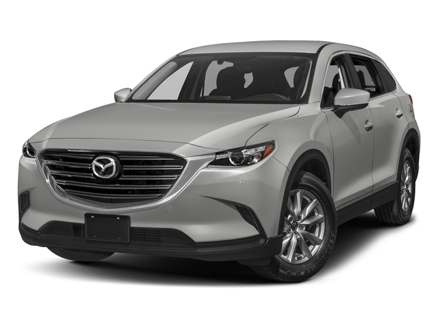 Sonic Silver Metallic 2016 Mazda CX-9 Pictures CX-9 Utility 4D Sport AWD I4 photos front view