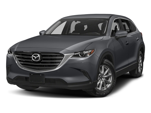 Machine Gray Metallic 2016 Mazda CX-9 Pictures CX-9 Utility 4D Sport AWD I4 photos front view