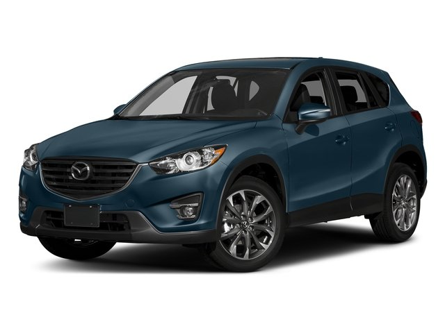 Deep Crystal Blue Mica 2016 Mazda CX-5 Pictures CX-5 Utility 4D GT 2WD I4 photos front view