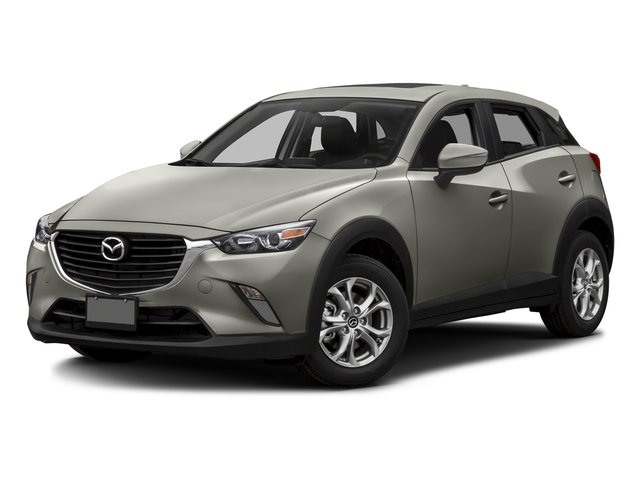 Ceramic Silver Metallic 2016 Mazda CX-3 Pictures CX-3 Utility 4D Touring AWD I4 photos front view