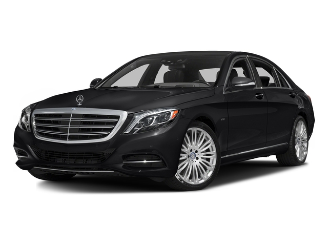 Black 2016 Mercedes-Benz S-Class Pictures S-Class Sedan 4D S600 V12 Turbo photos front view