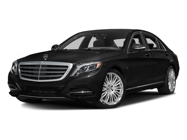 Obsidian Black Metallic 2016 Mercedes-Benz S-Class Pictures S-Class Sedan 4D S600 V12 Turbo photos front view