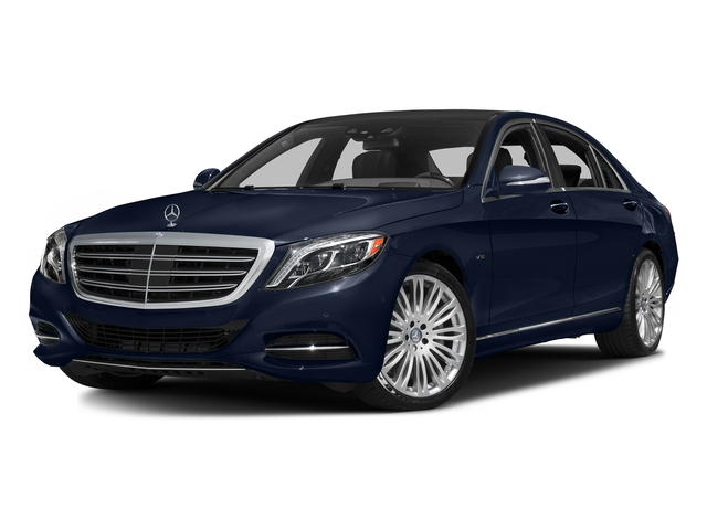Lunar Blue Metallic 2016 Mercedes-Benz S-Class Pictures S-Class Sedan 4D S600 V12 Turbo photos front view