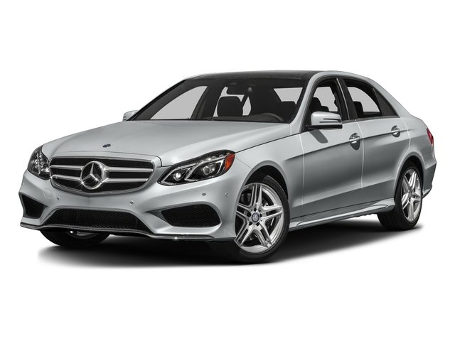 Iridium Silver Metallic 2016 Mercedes-Benz E-Class Pictures E-Class Sedan 4D E350 AWD V6 photos front view