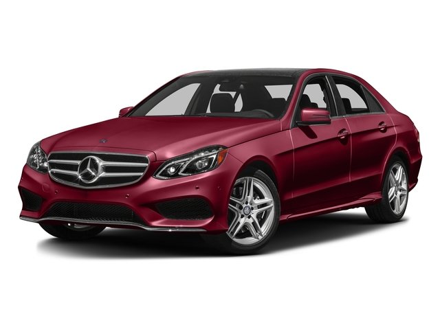 designo Cardinal Red Metallic 2016 Mercedes-Benz E-Class Pictures E-Class Sedan 4D E350 AWD V6 photos front view