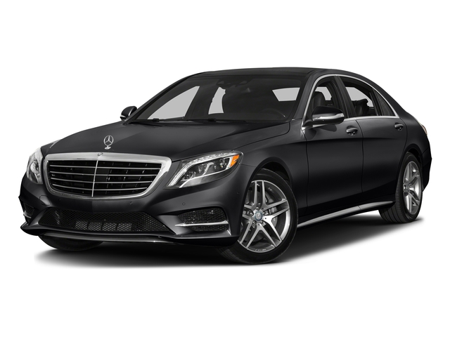 Black 2016 Mercedes-Benz S-Class Pictures S-Class Sedan 4D S550 AWD V8 Turbo photos front view