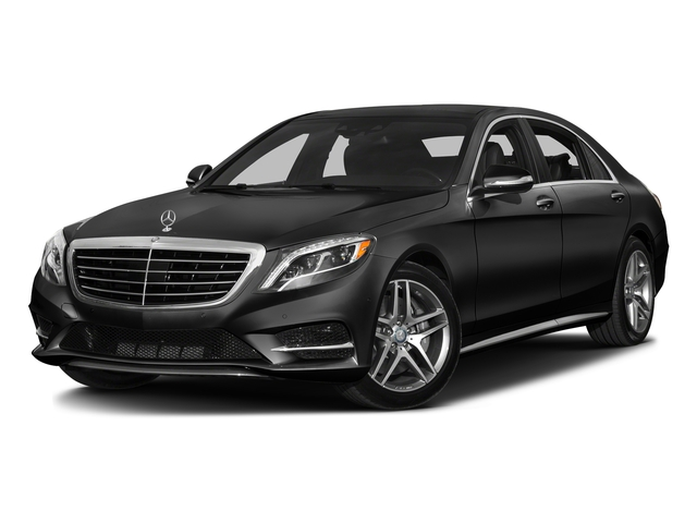 Obsidian Black Metallic 2016 Mercedes-Benz S-Class Pictures S-Class Sedan 4D S550 AWD V8 Turbo photos front view