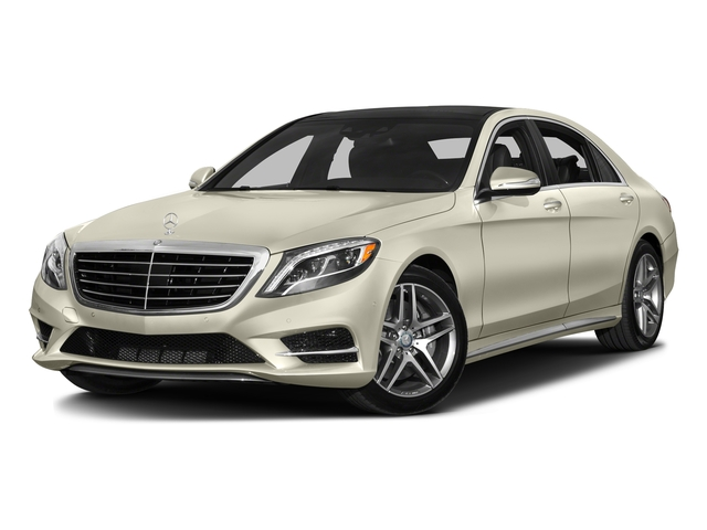 designo Diamond White 2016 Mercedes-Benz S-Class Pictures S-Class Sedan 4D S550 AWD V8 Turbo photos front view