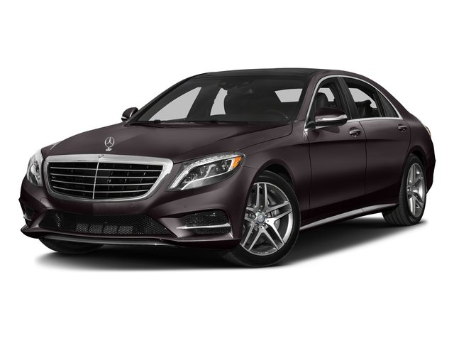 Ruby Black Metallic 2016 Mercedes-Benz S-Class Pictures S-Class Sedan 4D S550 AWD V8 Turbo photos front view