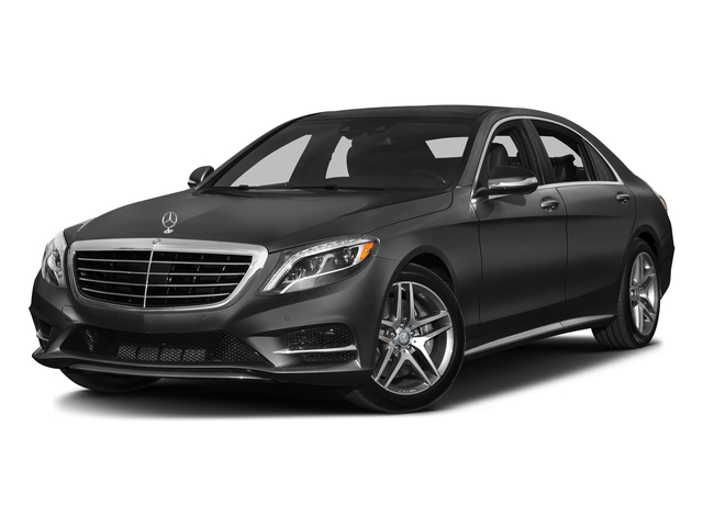 Selenite Grey Metallic 2016 Mercedes-Benz S-Class Pictures S-Class Sedan 4D S550 AWD V8 Turbo photos front view