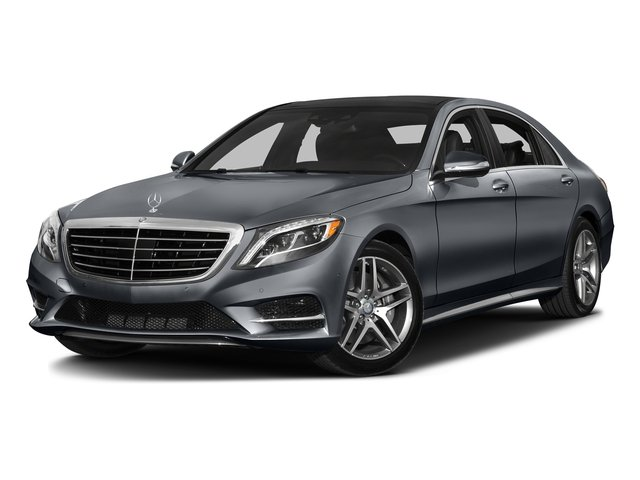 Anthracite Blue Metallic 2016 Mercedes-Benz S-Class Pictures S-Class Sedan 4D S550 AWD V8 Turbo photos front view