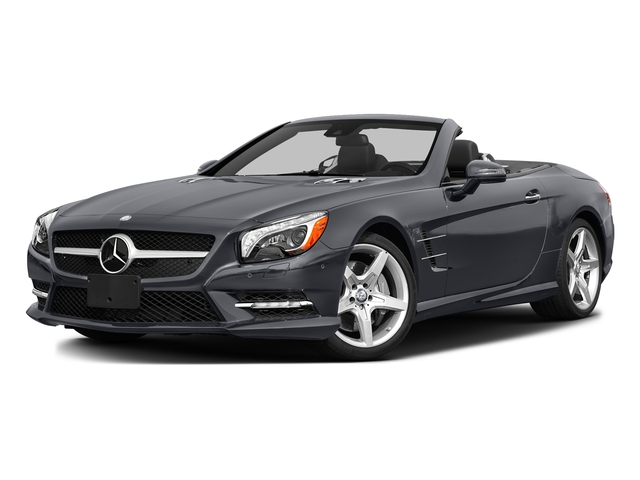Shadow Gray Matte 2016 Mercedes-Benz SL Pictures SL Roadster 2D SL550 V8 Turbo photos front view