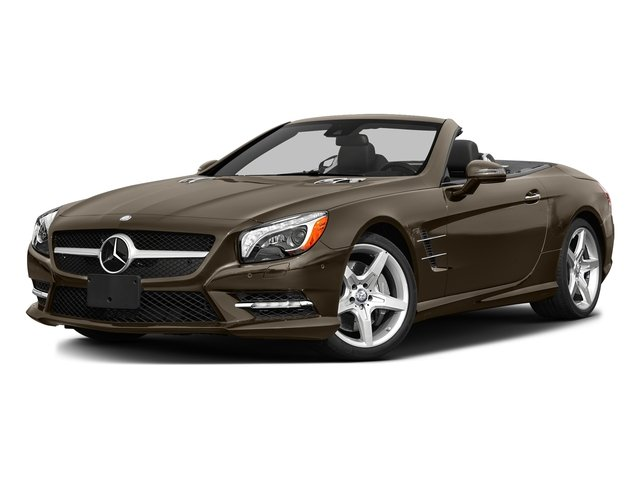 Dolomite Brown Metallic 2016 Mercedes-Benz SL Pictures SL Roadster 2D SL550 V8 Turbo photos front view