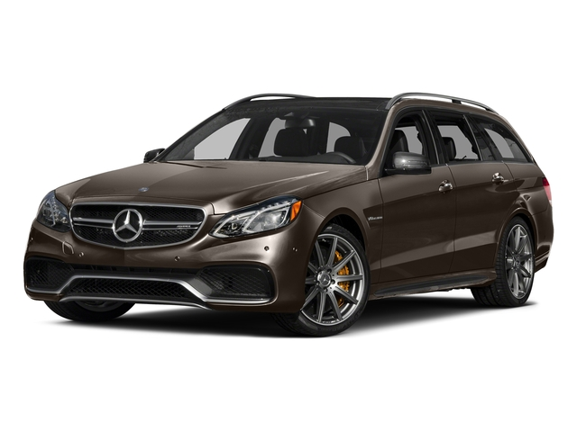 Dolomite Brown Metallic 2016 Mercedes-Benz E-Class Pictures E-Class Wagon 4D E63 AMG S AWD V8 Turbo photos front view