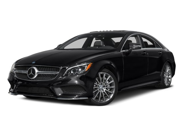 Black 2016 Mercedes-Benz CLS Pictures CLS Sedan 4D CLS550 V8 Turbo photos front view