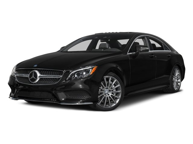 Magnetite Black Metallic 2016 Mercedes-Benz CLS Pictures CLS Sedan 4D CLS550 V8 Turbo photos front view