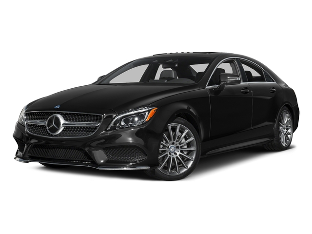 Obsidian Black Metallic 2016 Mercedes-Benz CLS Pictures CLS Sedan 4D CLS550 V8 Turbo photos front view