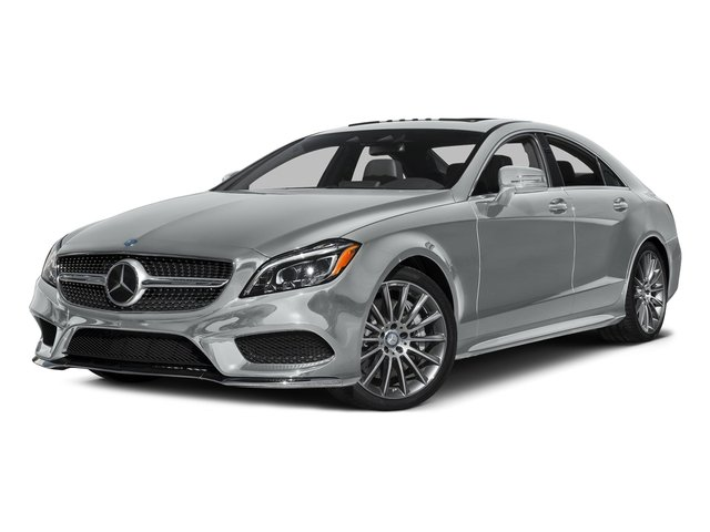 Iridium Silver Metallic 2016 Mercedes-Benz CLS Pictures CLS Sedan 4D CLS550 V8 Turbo photos front view
