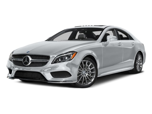Diamond Silver Metallic 2016 Mercedes-Benz CLS Pictures CLS Sedan 4D CLS550 V8 Turbo photos front view
