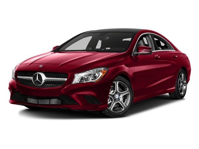 Jupiter Red 2016 Mercedes-Benz CLA Pictures CLA Sedan 4D CLA250 AWD I4 Turbo photos front view