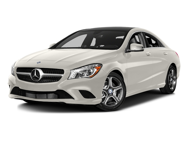 Cirrus White 2016 Mercedes-Benz CLA Pictures CLA Sedan 4D CLA250 AWD I4 Turbo photos front view