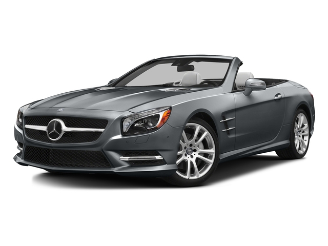 Shadow Gray Matte 2016 Mercedes-Benz SL Pictures SL Roadster 2D SL400 V6 Turbo photos front view