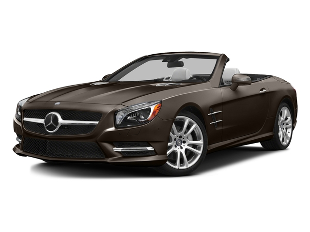Dolomite Brown Metallic 2016 Mercedes-Benz SL Pictures SL Roadster 2D SL400 V6 Turbo photos front view