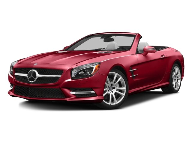 Mars Red 2016 Mercedes-Benz SL Pictures SL Roadster 2D SL400 V6 Turbo photos front view