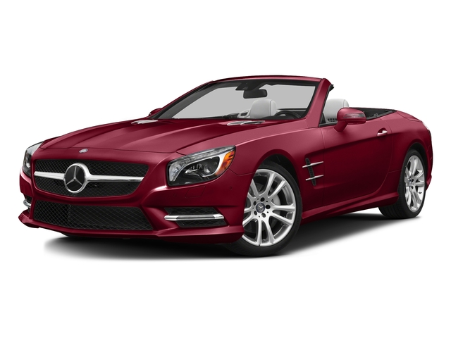 designo Cardinal Red Metallic 2016 Mercedes-Benz SL Pictures SL Roadster 2D SL400 V6 Turbo photos front view