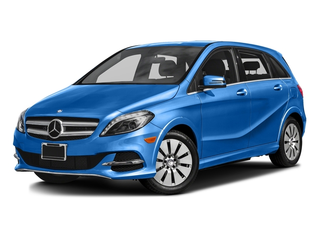 South Seas Blue Metallic 2016 Mercedes-Benz B-Class Pictures B-Class Hatchback 5D Electric Drive photos front view