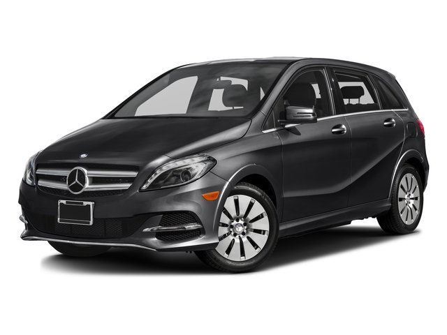 Cosmos Black Metallic 2016 Mercedes-Benz B-Class Pictures B-Class Hatchback 5D Electric Drive photos front view