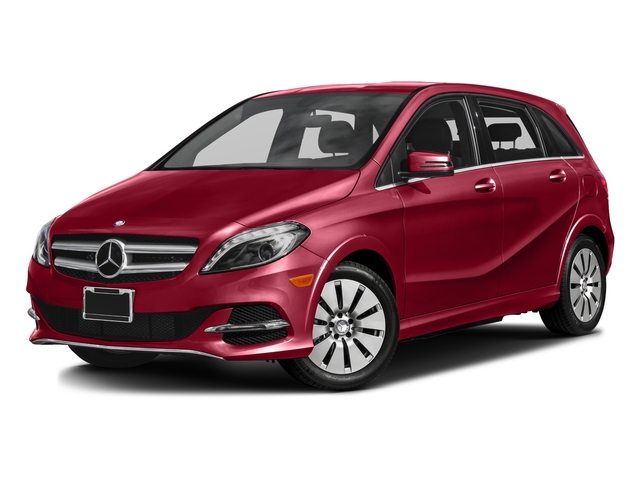 Jupiter Red 2016 Mercedes-Benz B-Class Pictures B-Class Hatchback 5D Electric Drive photos front view