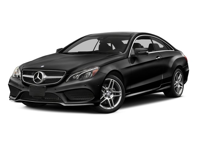 Obsidian Black Metallic 2016 Mercedes-Benz E-Class Pictures E-Class Coupe 2D E400 V6 Turbo photos front view