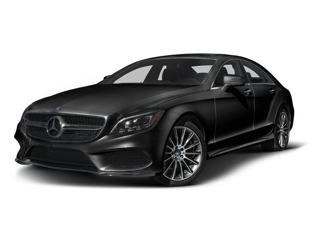 Magnetite Black Metallic 2016 Mercedes-Benz CLS Pictures CLS Sedan 4D CLS400 V6 Turbo photos front view
