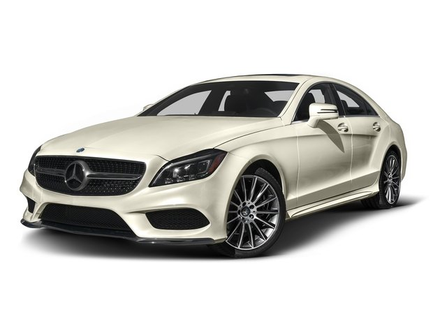 designo Diamond White Metallic 2016 Mercedes-Benz CLS Pictures CLS Sedan 4D CLS400 V6 Turbo photos front view