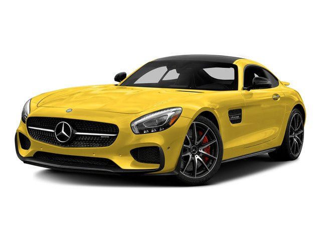 AMG Solarbeam Yellow 2016 Mercedes-Benz AMG GT Pictures AMG GT S 2 Door Coupe photos front view