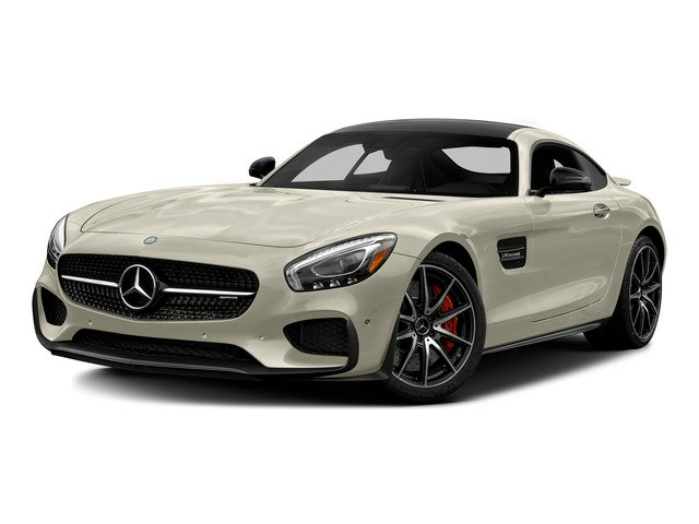 designo Diamond White Metallic 2016 Mercedes-Benz AMG GT Pictures AMG GT S 2 Door Coupe photos front view