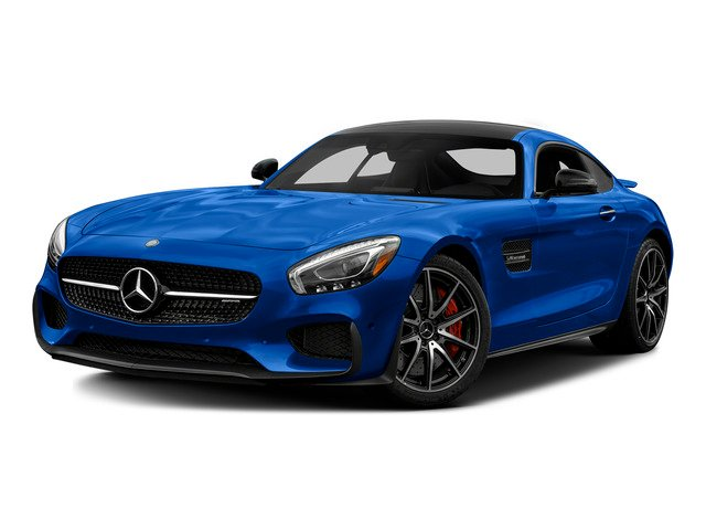 Brilliant Blue 2016 Mercedes-Benz AMG GT Pictures AMG GT S 2 Door Coupe photos front view
