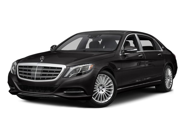 designo Mocha Black 2016 Mercedes-Benz S-Class Pictures S-Class Sedan 4D S600 Maybach V12 Turbo photos front view