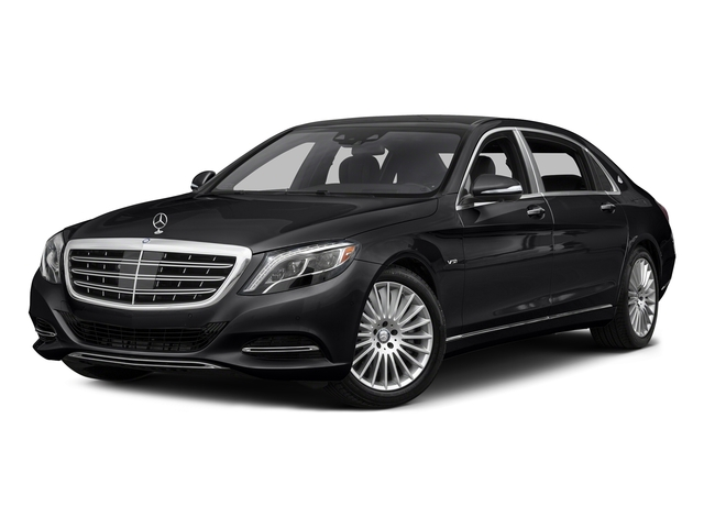Black 2016 Mercedes-Benz S-Class Pictures S-Class Sedan 4D S600 Maybach V12 Turbo photos front view