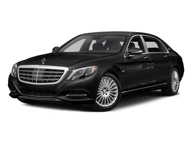 Obsidian Black Metallic 2016 Mercedes-Benz S-Class Pictures S-Class Sedan 4D S600 Maybach V12 Turbo photos front view