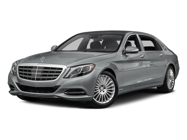Iridium Silver Metallic 2016 Mercedes-Benz S-Class Pictures S-Class Sedan 4D S600 Maybach V12 Turbo photos front view