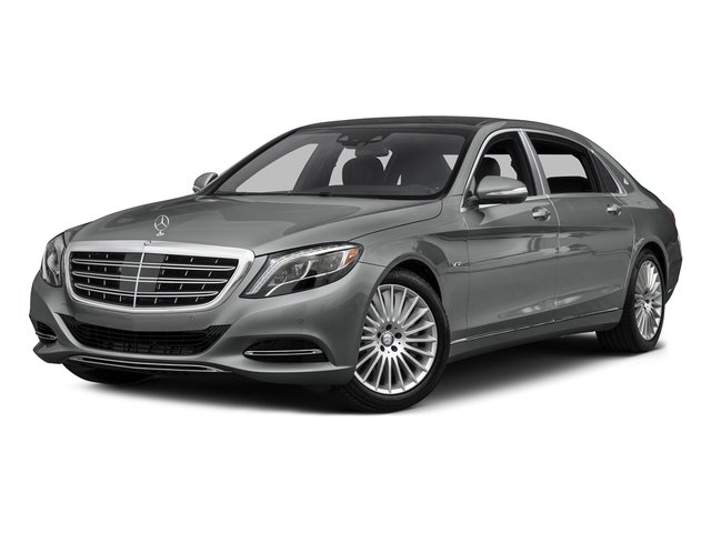 Palladium Silver Metallic 2016 Mercedes-Benz S-Class Pictures S-Class Sedan 4D S600 Maybach V12 Turbo photos front view