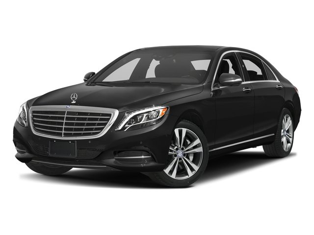 Obsidian Black Metallic 2016 Mercedes-Benz S-Class Pictures S-Class Sedan 4D S550e V6 Turbo photos front view