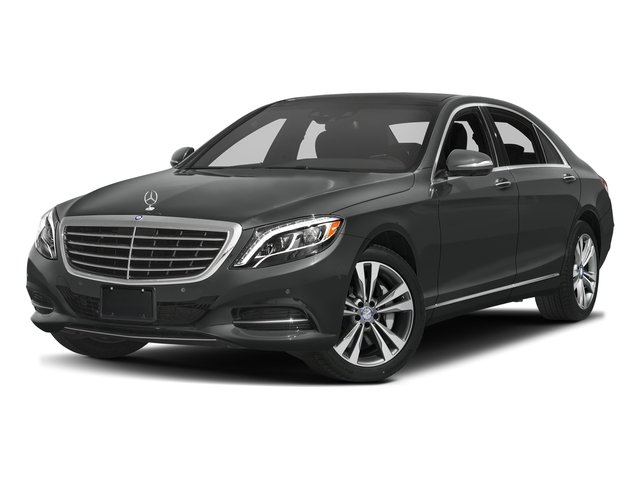 Selenite Grey Metallic 2016 Mercedes-Benz S-Class Pictures S-Class Sedan 4D S550e V6 Turbo photos front view