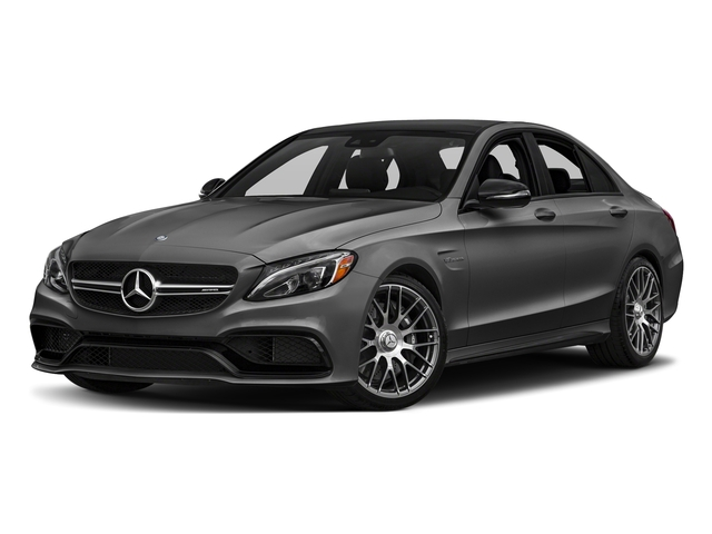 Steel Gray Metallic 2016 Mercedes-Benz C-Class Pictures C-Class Sedan 4D C63 AMG V8 Turbo photos front view