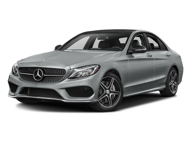 Iridium Silver Metallic 2016 Mercedes-Benz C-Class Pictures C-Class Sedan 4D C450 Sport AMG AWD V6 Turbo photos front view