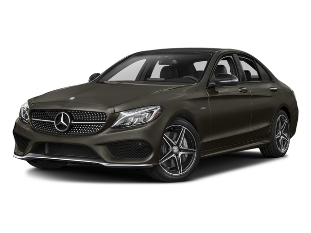 Dakota Brown Metallic 2016 Mercedes-Benz C-Class Pictures C-Class Sedan 4D C450 Sport AMG AWD V6 Turbo photos front view