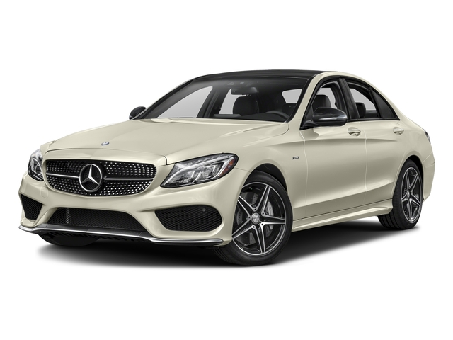 Diamond White Metallic 2016 Mercedes-Benz C-Class Pictures C-Class Sedan 4D C450 Sport AMG AWD V6 Turbo photos front view