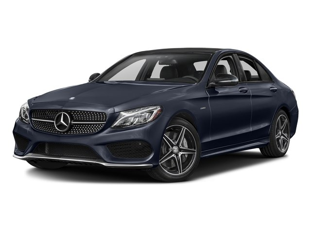 Lunar Blue Metallic 2016 Mercedes-Benz C-Class Pictures C-Class Sedan 4D C450 Sport AMG AWD V6 Turbo photos front view